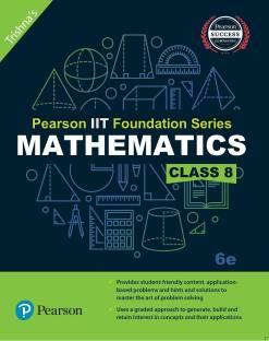 Pearson IIT Foundation Mathematics Class 8