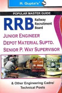 RRB Railway Recruitment Board Junior Engineer Depot Material Suptd. Senior P. Way Supervisor Guide 1st Edition