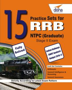 15 Practice Sets for RRB NTPC (Graduate) Stage II Exam