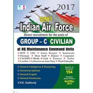 meet 235fc a5e8b Indian Air Force Group C ( Civilian ) Exam Books 2017