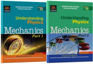 Understanding Physics Mechanics: A Textbook of Physics for IIT JEE & Other Engineering Entrances, Part - 1 & 2 (Set of 2 Books) 1st Edition 1st  Edition