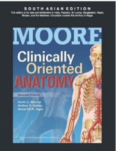 Moore Anatomy Book