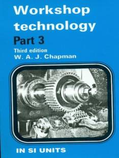 A Course In Workshop Technology (Machine Tools Vol II): Buy