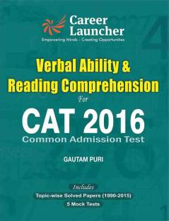 CAT Verbal Ability & Reading Comprehension 2016