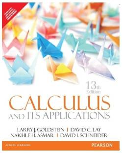 Calculus & its Applications 13th Edition