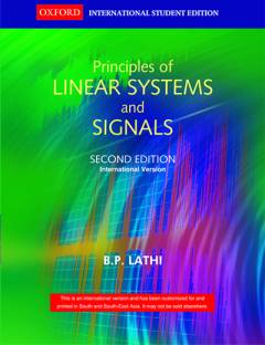 linear systems and signals 3rd edition