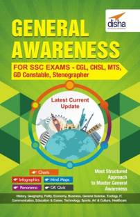 General Awareness for SSC Exams - CGL/ CHSL/ MTS/ GD Constable/ Stenographer