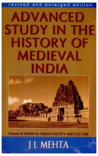 Advanced Study in the History of Medival India Vol 3