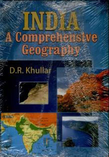 INDIA A COMPREHENSIVE GEOGRAPHY by KHULLAR D.R.-English-KALYANI PUBLISHERS-Paperback_Edition-02 2 Edition