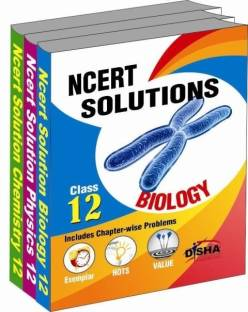 NCERT Solutions Physics / Biology / Chemistry - Set of 3 Books (Class 12)
