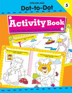 Dot-to-Dot - Activity Book : Part - 5 - Join the Dots and Find the Hidden Picture