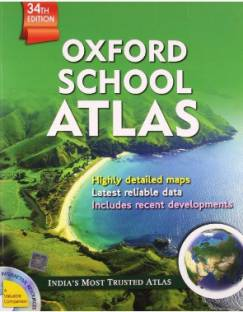 Oxford School Atlas 34th  Edition