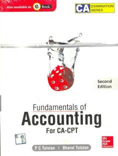 Fundamentals of Accounting : For CA-CPT 2nd  Edition