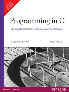 Programming in C 3rd Edition 3rd Edition