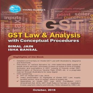 GST Law and Analysis With Conceptual Procedures With CD