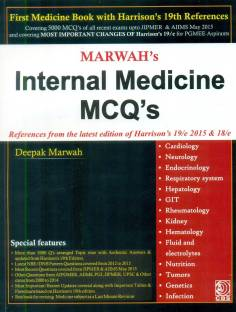 Medicine mcqs for medical professionals based on 19th edition of marwah internal medicine mcq fandeluxe Choice Image