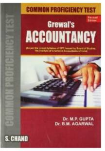 Grewals Accountancy For CPT Course PB 4th Revised  Edition