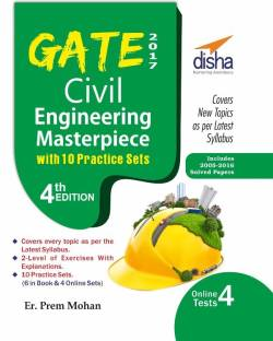 GATE 2017 Civil Engineering Masterpiece with 10 Practice Sets (6 in Book + 4 Online) 4th edition