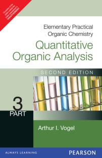 Elementary Practical Organic Chemistry Quantitative Analysis Part 3 2nd Edition