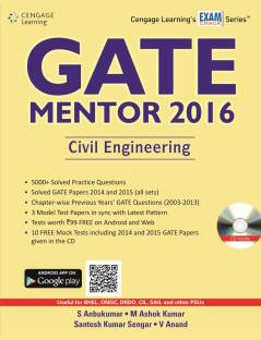 GATE - Mentor 2016 Civil Engineering (With CD) 1st  Edition
