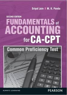 Fundamentals of Accounting for CA - CPT (Common Proficiency Test) 2nd  Edition