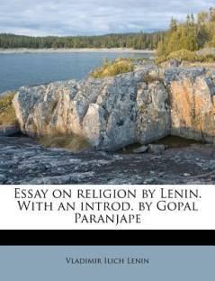 vladimir ilich lenin books store online buy vladimir ilich lenin essay on religion by lenin an introd by gopal paranjape