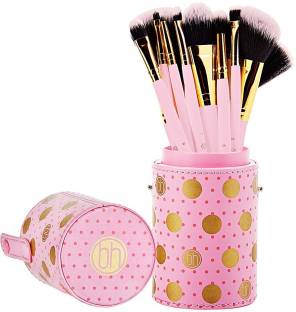 9ff2e18496b0b BH Cosmetics Metal Rose - Brush Set With Cosmetic Bag - Price in ...