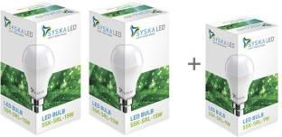 Syska Led Lights 9 W, 15 W Standard B22 LED Bulb