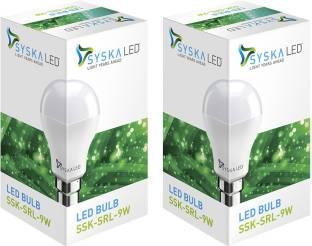 Syska Led Lights 9 W Standard B22 LED Bulb