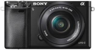 SONY ILCE-6000L/B IN5 Mirrorless Camera Body with Single Lens: 16-50mm Lens