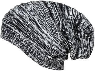 cad59b9a99a Gajraj Solid Knitted Beanie Cap