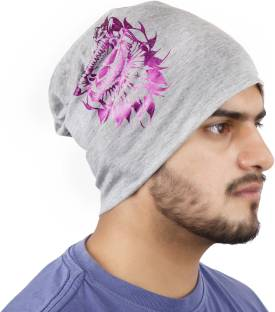 Noise Hail United Skull Beanie With Ring Printed Skull Cap - Buy ... 877ac1d0a5d