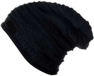 ed51b294a KRG Enterprises soft famous Winter Woolen Long Cap - Buy Multicolor ...