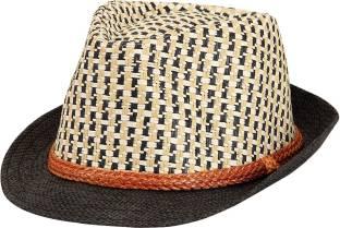 90a7b7ba102 FabSeasons Self Design Fedora Hat Cap