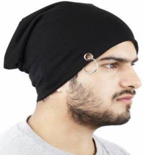 Noise Midnight Black Solid Skull Cap - Buy Black Noise Midnight ... 2fadbaee3de7