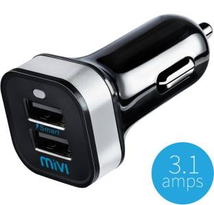 Mivi 3.1 amp Turbo Car Charger