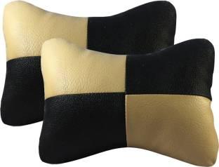Auto Car Winner Black, Beige Leatherite Car Pillow Cushion for Universal For Car
