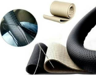 ELECTRIBLES Hand Stiched Steering Cover For Maruti Swift