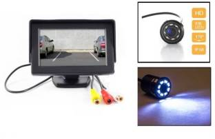 AutoStark TFT Monitor with LED Reverse Parking Camera Hyundai i20 Black LCD