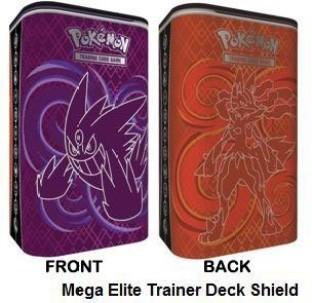 Pokemon XY Ancient Origins Elite Trainer Deck Shield Mega Rayquaza Latios NEW!