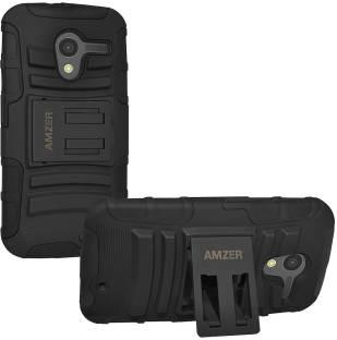 Amzer Back Cover for Motorola Moto X XT1055(Black)