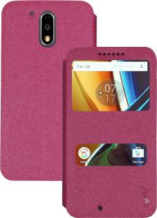 new arrivals e5ec1 4ee99 Heartly Flip Cover for Motorola Moto G4 Plus / G Plus 4th Gen ...