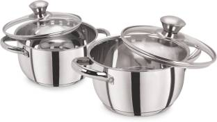PRISTINE Deluxe Pack of 2 Serve Casserole Set