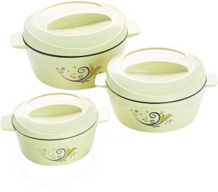 cello Alpha Insulated Pack of 3 Thermoware Casserole Set