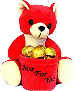 Skylofts Cute Teddy Penstand Gift Chocolate Bars