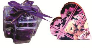 Skylofts Stylish Plus Box with birthday heart gift combo Chocolate Bars