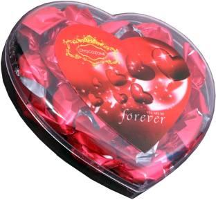 Skylofts Stylish Box with cute heart, anniversary card Chocolate Bars