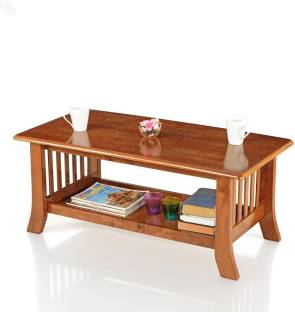 royaloak vita solid wood coffee table - Living Room Furniture India