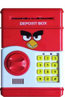 Darling Money Safe Kids Piggy Savings With Electronic Lock Coin Bank