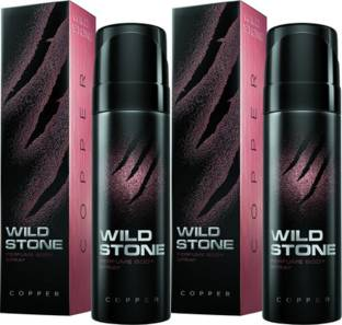 Wild Stone Copper Deodorant Spray Combo Set